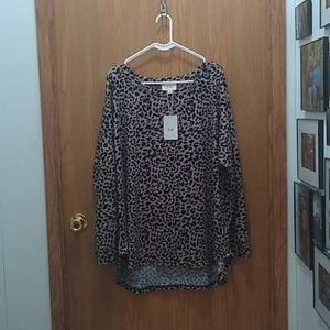 Women's Size 2Extra Large Zia Long Sleeved Tee
